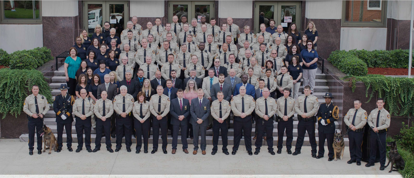 Sheriff Department Staff Photo