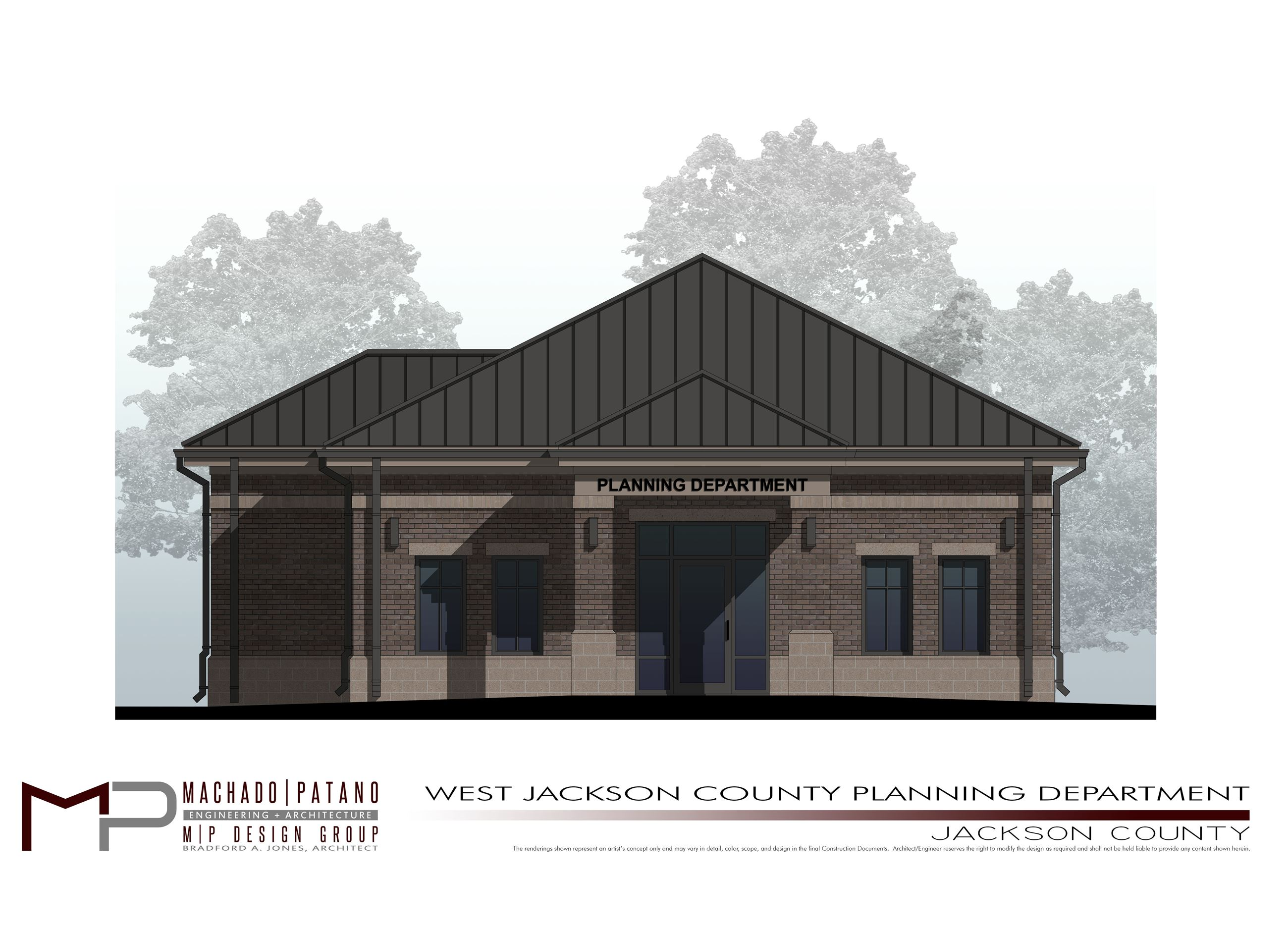 WJC Planning Office - Rendering of Proposed WJC Facility - JPG